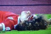 """""""الوحدة"""": الفحوصات أثبتت إصابة اللاعب علي النمر بكسور في الوجه والأسنان"""