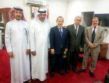 رئيس وأمين عام الاتحاد العربي للتطوع يلتقيان سعادة سفير الجمهورية اليمنية ومسؤولين السفارة في البحرين