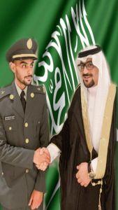 تركي محمد غازي يحصل على رتبة ملازم في الصواريخ الإستراتيجية