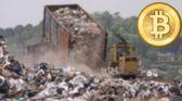 """تحويل القمامة إلى """"بتكوين"""".. هل يمكن أن تحفز العملات الرقمية الإبداع في الطاقة المتجددة؟"""