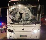 أمير تبوك يتابع حادث اصطدام حافلة أردنية بإبل سائبة على طريق تيماء – تبوك ويوجه بسرعة تقديم العون لجميع الركاب