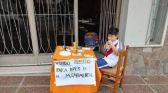 شغف كرة القدم.. طفل يبيع ألعابه لحضور نهائي ليبرتادوريس