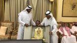 الشيخ علي الزهراني وابناء عمومته يحتفلون بالدكتور جمعان البشيري