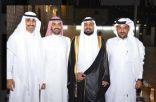 """أسرة الزبيدي تحتفل بالشاب """"عبدالله"""" في قاعة النرجس بجدة"""