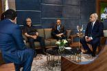 سلمان بن إبراهيم : حريصون على تعزيز التعاون  مع الإتحاد الأوزبكي الجديد