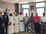 الدكتور الحامد يًكرم أعضاء هيئة التدريس في كلية الهندسة بوادي الدواسر