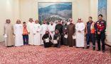 منسوبي أمارة منطقة الباحة يجتازون برنامج الأمير نايف التدريبي