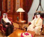 وزير الخارجية يلتقي ملك مملكة البحرين