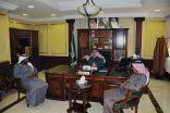 محافظ خيبر يستقبل أعضاء المجلس البلدي بخيبر بدورته الثالثة