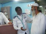 الكشافة تعزز خدماتها التطوعية للحجاج بالمراكز الصحية