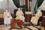 """الأمير """"سعود بن نايف"""" يستقبل الشيخ """"عبدالله آل ثاني"""" السفير القطري لدى المملكة"""
