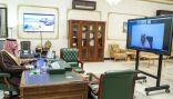 """الأمير فيصل يتواصل مع المواطنين عبر""""الاتصال المرئي"""""""