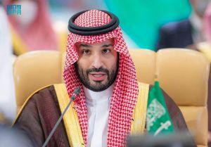 سمو ولي العهد يعلن انتهاء أعمال قمة الشرق الأوسط الأخضر