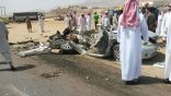 مصرع مواطن وإصابة مقيم في حادث الطلاليع