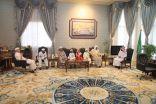 وكيل أمارة الباحة يستقبل رئيس اللجنة الفرعية للهيئة العالمية لتحفيظ القرآن