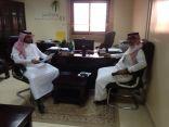 الخدمات الإلكترونية وتحديث بيانات المنشآت مطلب أساسي بين مكتب العمل والبريد السعودي بخيبر