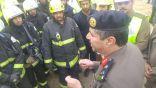 فرضية انهيار مبنى تحت الانشاء المقام لنادي الحجاز بمحافظة بلجرشي
