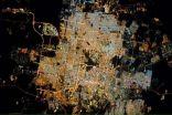 """"""" هكذا تبدو الرياض من محطة الفضاء الدولية """""""