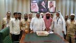 د .بحيري يكرم 15 عامل نظافة من حفظة كتاب الله بمستشفى الملك عبدالعزيز بالعاصمة المقدسة