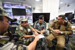 قائد قوات أمن الحج يتابع ميدانياً الخطط الأمنية و المرورية للحرم الشريف لحج العام ١٤٣٧