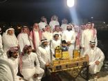 (إشراق لايف) تشارك في حفل تكريم ال معيض ببطل المنطقة الشرقية يوسف الزهراني