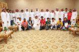 بالصور : مراسم قرعة دورة شهداء الوطن الرمضانية بالمجاردة بمشاركة 16 فريقاً