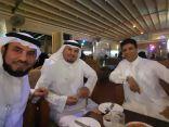 امسية فنية ادبية تجمع رجل الاعمال الشريف الراجحي بالفنان احمد فتحي في جدة