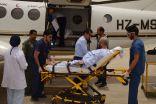 """""""الإخلاء الطبي"""" : ينقل ( 1001 ) حالة خلال ستة أشهر وتدشين القنوات التفاعلية المرئية بالطائرات"""