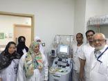 اجراء اول زراعة لخلايا جذعية ذاتية في ( مستشفى الملك فهد العام بالمدينة المنورة )