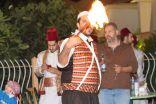 مهرجان يوم الحضاره السوريه في حديقة الوطن