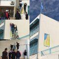 الحملة الاهلية تجتمع في سفارة فلسطين وتزور الوزير مراد