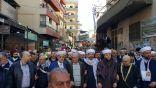 مسيرة غضب بعد صلاة الجمعة في مخيم البداوي