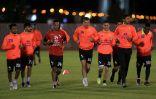 الوطني سعدالشهري يقود تدريبات الاتفاق والدبل يجتمع باللاعبين
