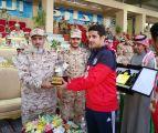 اللواء المضحي يتوج الفائزين في بطولة الوسطى للحرس الوطني