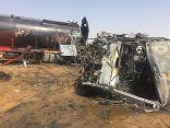 . خمس وفيات .. 13 اصابة .. في حادث تصادم على طريق صعبر