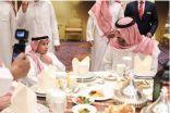 سمو نائب امير منطقة مكة المكرمة و700 شخصية ومجتمعية يتنالون الافطار مع ايتام جمعية البر