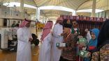 كشافة تعليم جدة يقدمون خدماتهم التطوعية لـ 5 الأف معتمر في مطار جدة يومياً