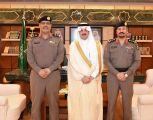 الأمير سعود بن نايف يستقبل مدير عام مرور المنطقة الشرقية