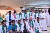 مول قلب الطائف وجمعية مراكز الاحياء يحتفلان بالوطن في يوم الوطن