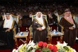 """أمير عسير يشهد احتفال التعليم باليوم الوطني """" قادمون وقادرون"""