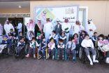 بحضور الأمير تركي بن طلال الامير سلطان بن سلمان يزور جمعية الأطفال المعاقين بعسير