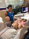 ورشة عمل حية لإنعاش القلب الرئوي بمستشفى أبها الخاص العالمي