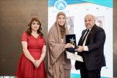 تكريم صاحبة السمو الملكي الأميرة خلود بنت خالد بمهرجان المرأة العربية
