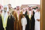 وكيل إمارة جازان للحقوق يؤدي صلاة الميت على الشهيد احمد الخبراني