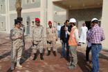 اللواء الركن أحمد ال مفرح يتفقد وحدات الحرس الوطني بالقطاع الشرقي بمحافظة الاحساء