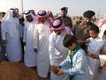 محافظ العيدابي يدشن مبادرة زراعة 3000 شجرة سدر بالمحافظة