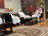 محافظ العارضة يستقبل مدير فرع وزارة البيئة والمياه والزراعة بجازان