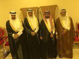 البلوي والزهراني يحتفلون بزواج الشاب عبدالعزيز
