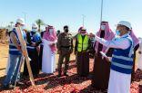 بالفيديو  والصور .. أمير الباحة يتفقد توسعة مطار الملك سعود