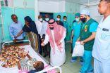 السفير السعودي بجيبوتي يزور مستشفى بيلتييه العام لمتابعة جهود مركز الملك سلمان الإغاثي |